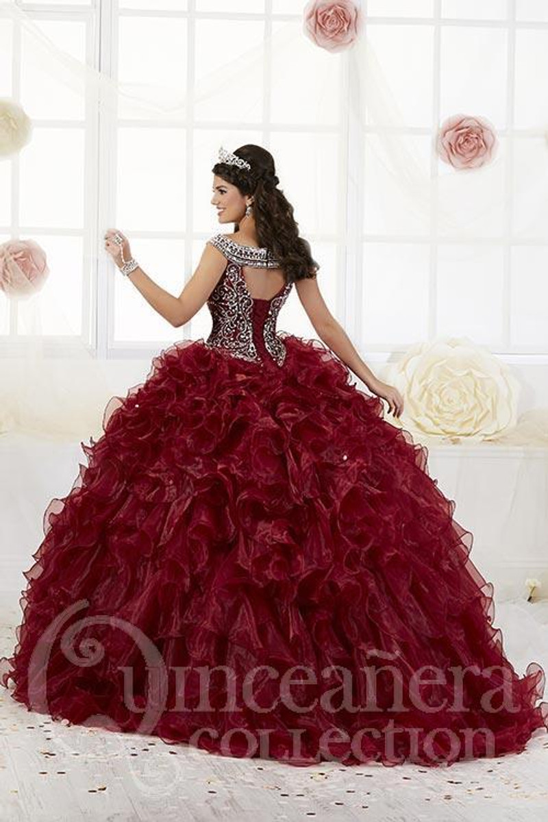 This quince gown is available in midnight.