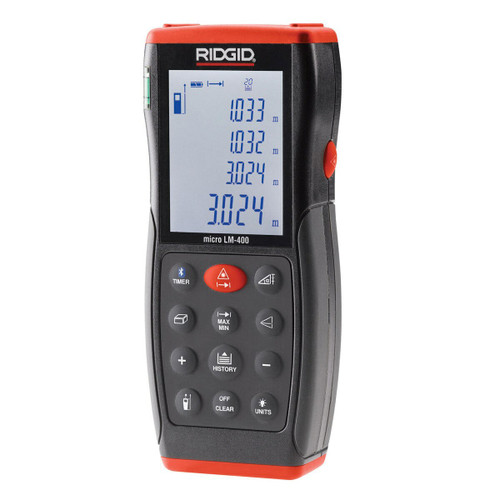 Ridgid LM-400 (36813) Advanced Laser Distance Meter (70 metres)
