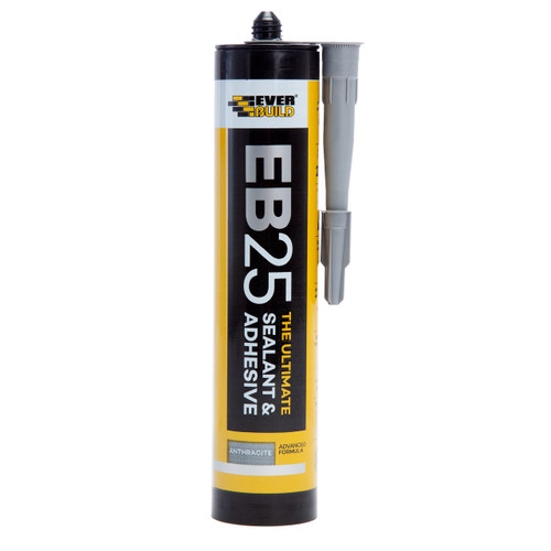 Everbuild EB25ANTH Ultimate Sealant and Adhesive Anthracite 300ml