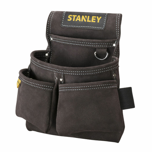 Stanley STST1-80116 Leather Double Nail Pocket Pouch