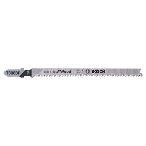 Bosch T308BP (2608667400) Precision for Wood Jigsaw Blades (Pack Of 5)