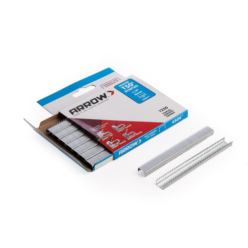 Arrow A50424 T50 Staples 6mm 1/4in (Pack of 1250)