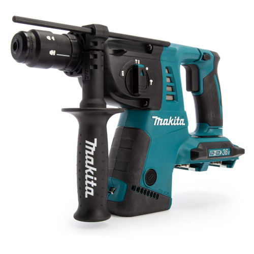 Makita DHR264ZJ 36V LXT SDS Plus Rotary Hammer Drill (Body Only) Accepts 2 x 18V Batteries