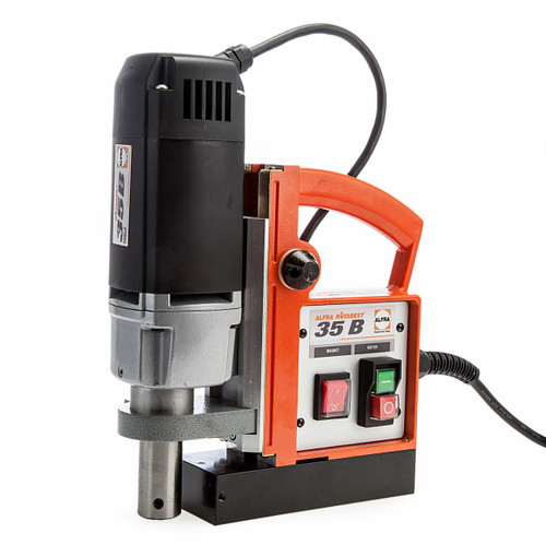 Alfra Rotabest RB35B Magnetic Drilling Machine 35mm Capacity 240V