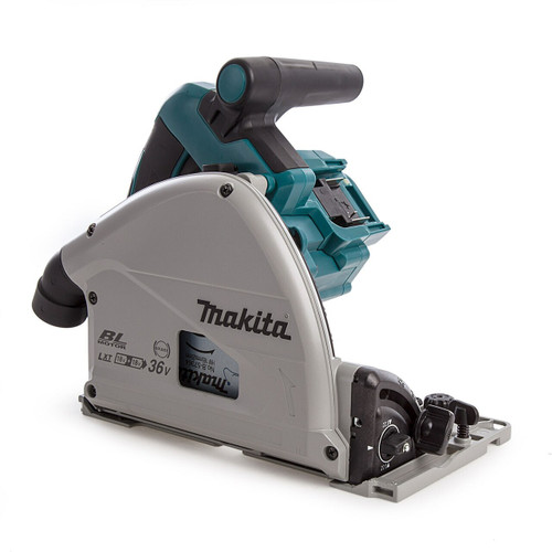 Makita DSP600ZJ Twin 18V LXT 165mm Plunge Saw in MakPac Case (Body Only)