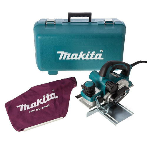 Makita KP0810CK Planer 3 Inch/82mm Heavy Duty with Constant Speed Control 240V