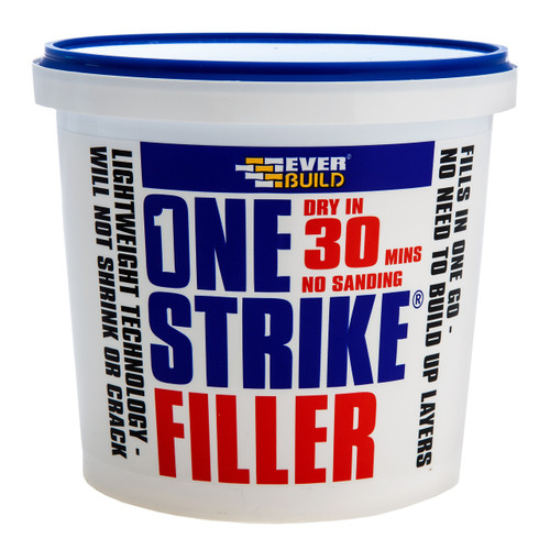 Everbuild ONE1 One Strike Multi-Purpose Filler White 1 Litre