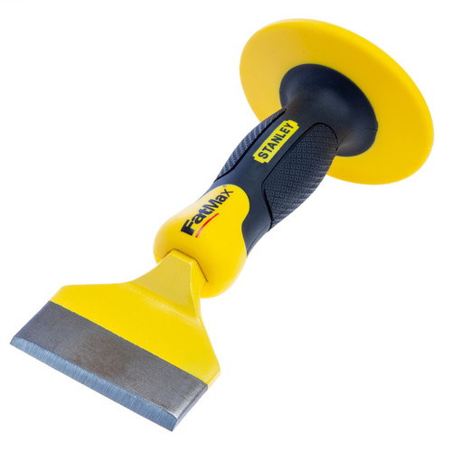 Stanley 4-18-327 Fatmax Brick Bolster Chisel with Guard 75mm / 3 Inch