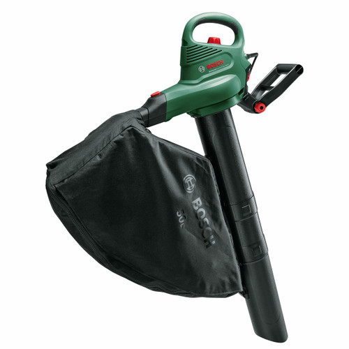 Bosch 06008B1071 3000GARDENTIDY Universal Garden Vacuum, Leaf Blower and Shredder