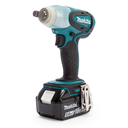 Makita DTW251RTJ 18V LXT Impact Wrench (2 x 5.0Ah Batteries)