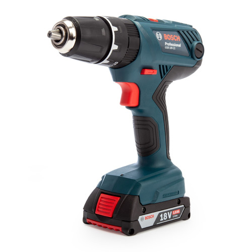 Bosch GSB 18V-21 Professional Combi Drill in L-Boxx (2 x 2.0Ah Batteries)