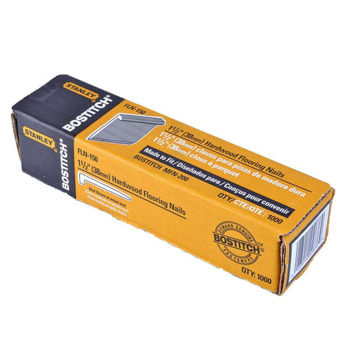 Bostitch FLN-150 Flooring Cleat Nails For MFN201E Nailer 38mm (Pack of 1000)