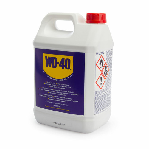 WD40 Multi Use Lubricant Without Applicator 5 Litres