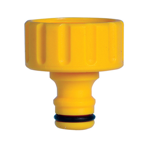 Hozelock 2158 Outdoor Threaded Tap Connector 1 Inch / 33.3mm