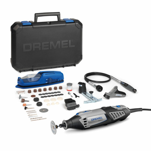 Dremel 4000-4/65 Multi Tool with 4 Attachments & 65 Accessories (240V)