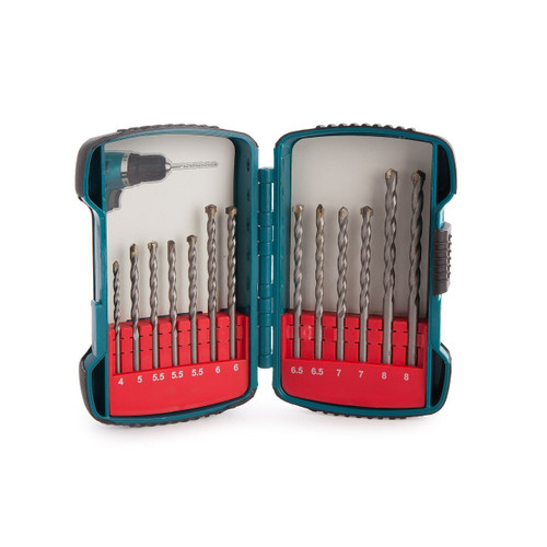 Makita P-51889 Masonry Drill Bit Set (13 Piece)