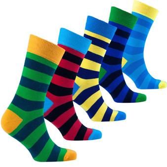 Men's Trendy Stripes Socks