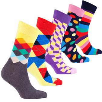 Men's Classy Mix Set Socks