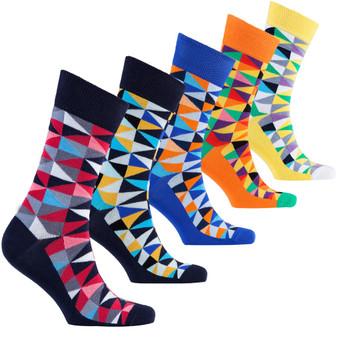 Men's Stylish Triangle Socks