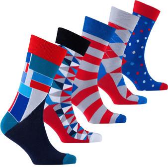 Men's Cool Mix Set Socks
