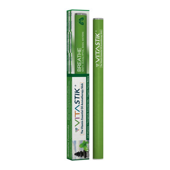 VitaStik Breathe Essential Oil Stick - Spearmint Menthol Aromatherapy