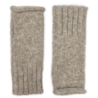 Beige Essential Knit Alpaca Gloves