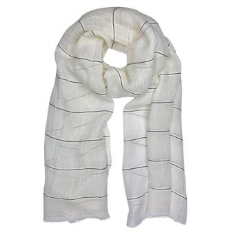 Gauze Stripe Linen Wrap