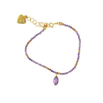 Amethyst Delicate Bracelet