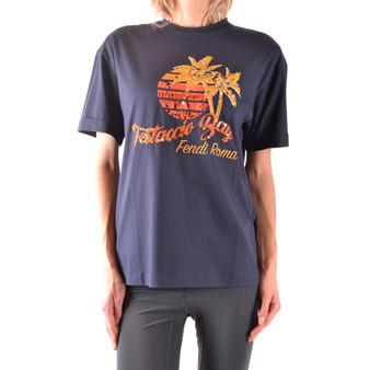 Tshirt Short Sleeves Fendi