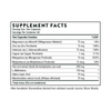 Thorne Research Heavy Metal Support 120 vegcaps Supplement Facts