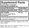Researched Nutritionals Microbinate Microbial Support 120 caps ingredients
