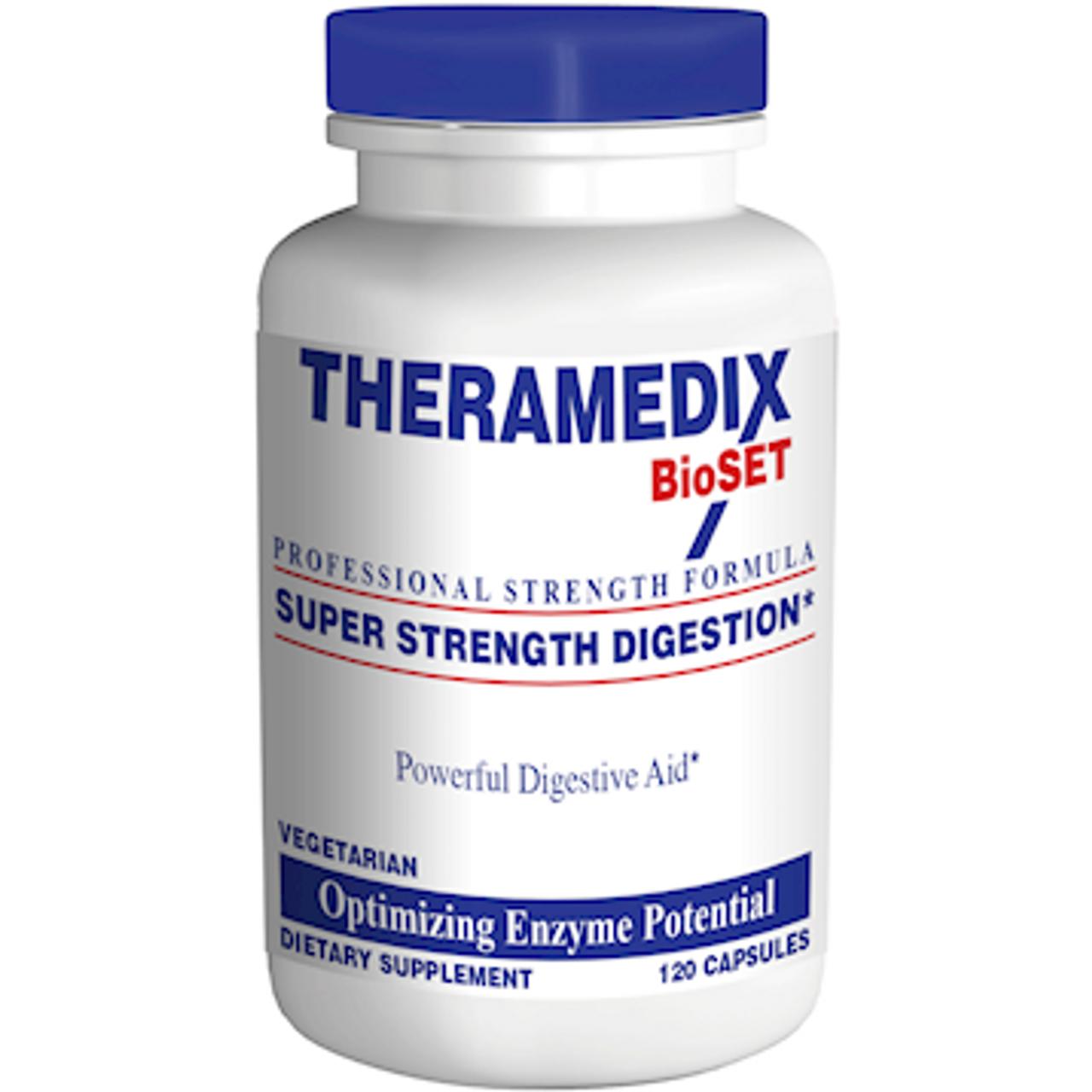 Theramedix BioSet Super Strength Digestion (Formerly DGX) 120 caps
