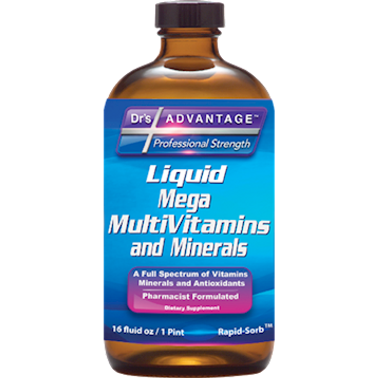 Dr.'s Advantage Liquid Mega Multivitamin and Mineral 16 oz