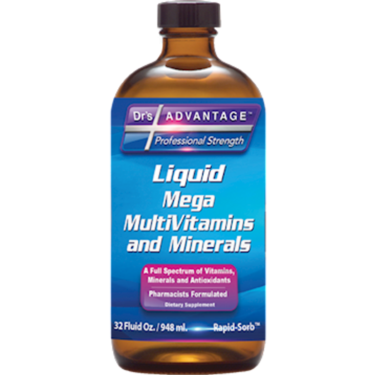 Dr.'s Advantage Liquid Mega Multivitamin and Mineral 32 oz