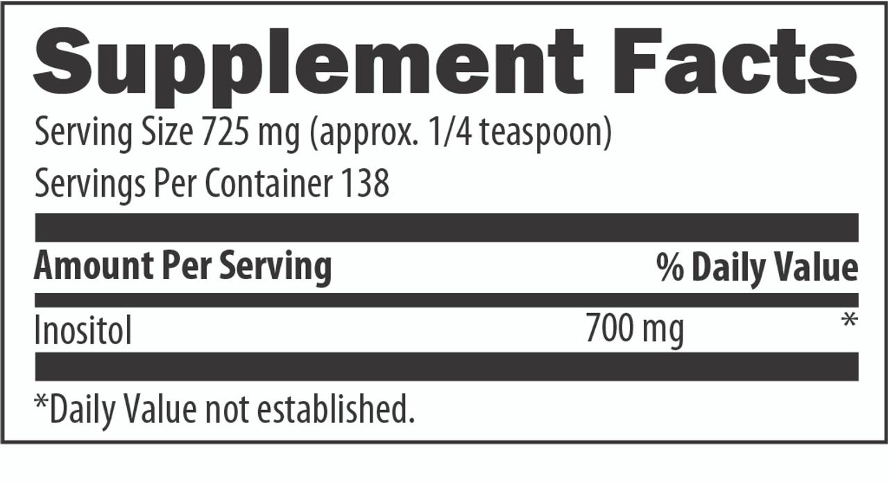 Designs for Health Inositol (Powder) 100 gms ingredients