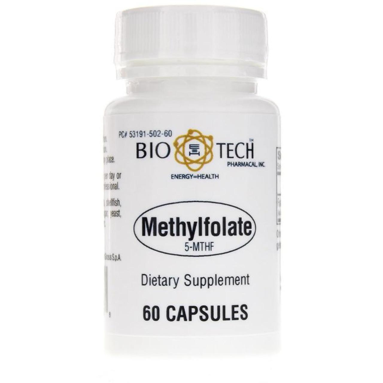 Bio-Tech Methylfolate 5-MTHF 60 caps