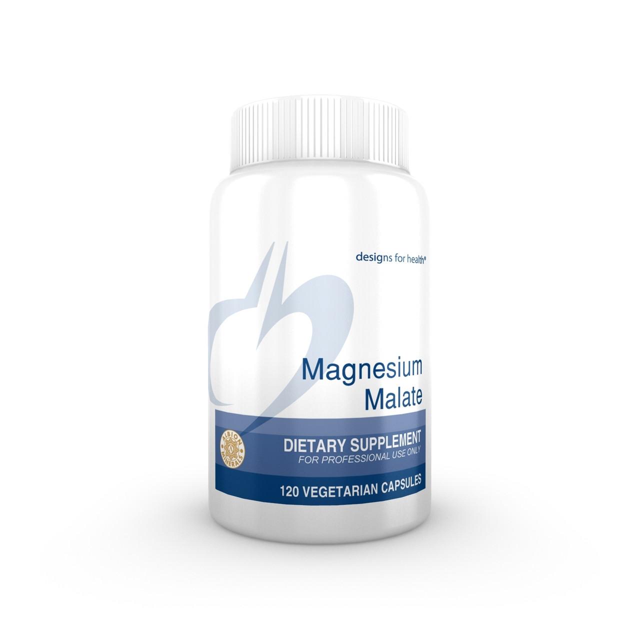 Designs For Health Magnesium Malate 120 veg caps