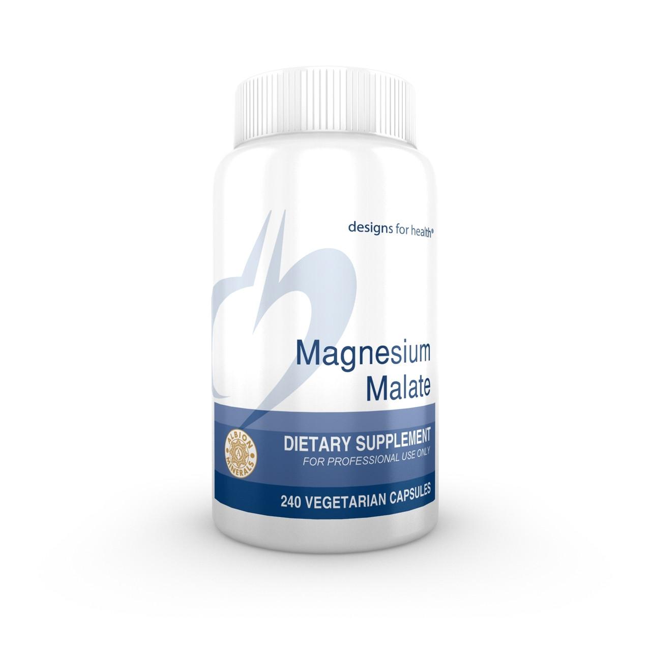 Designs For Health Magnesium Malate 240 veg caps