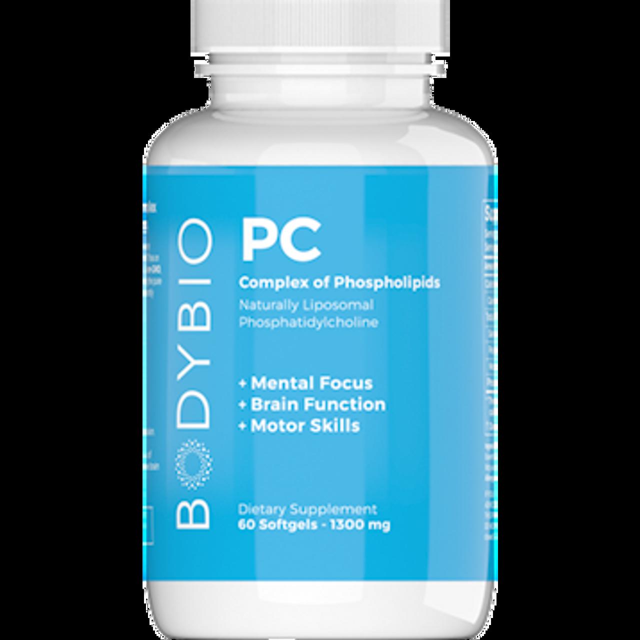 Bodybio PC (Phosphatidyl-Choline) 60 softgels