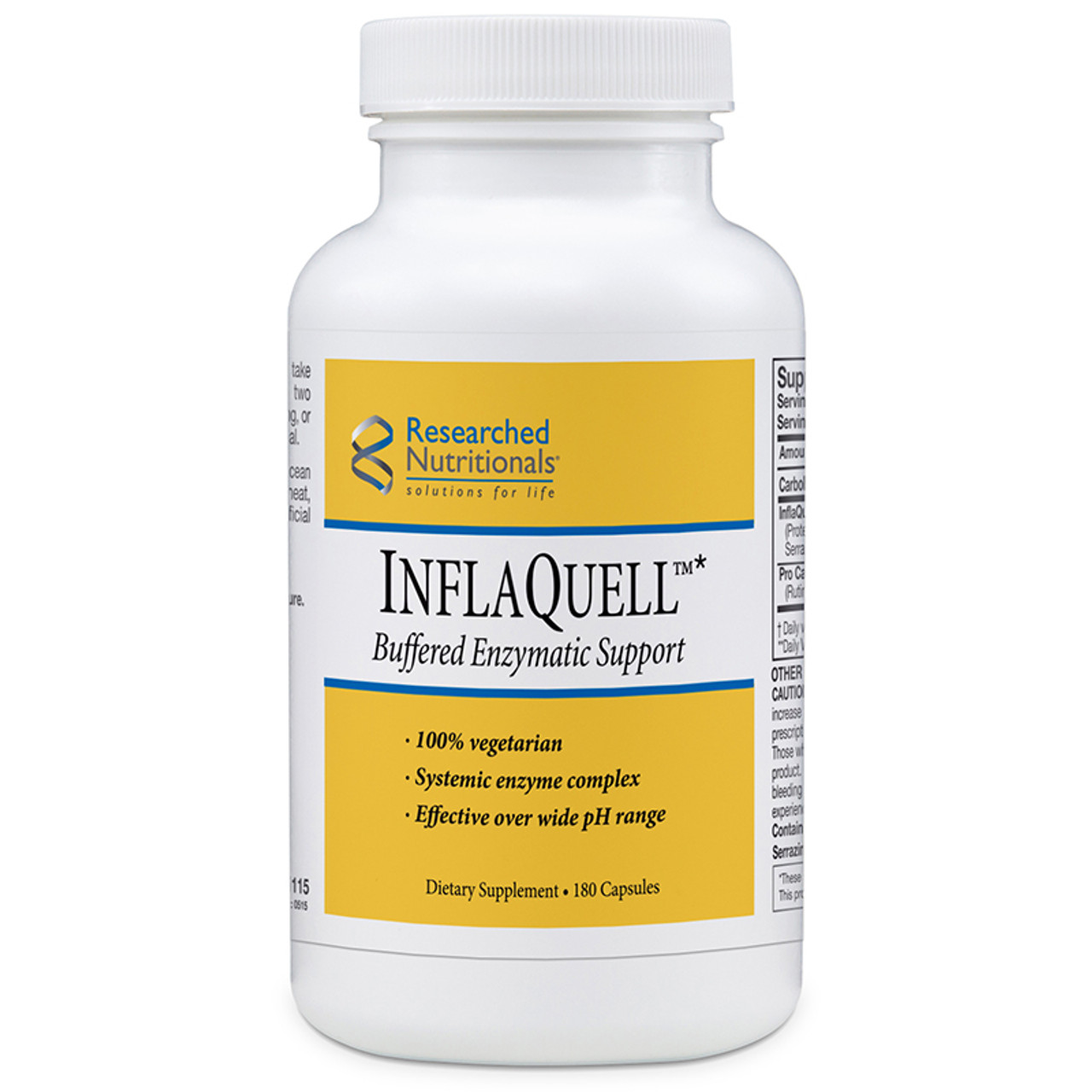 Researched Nutritionals InflaQuell 180 caps
