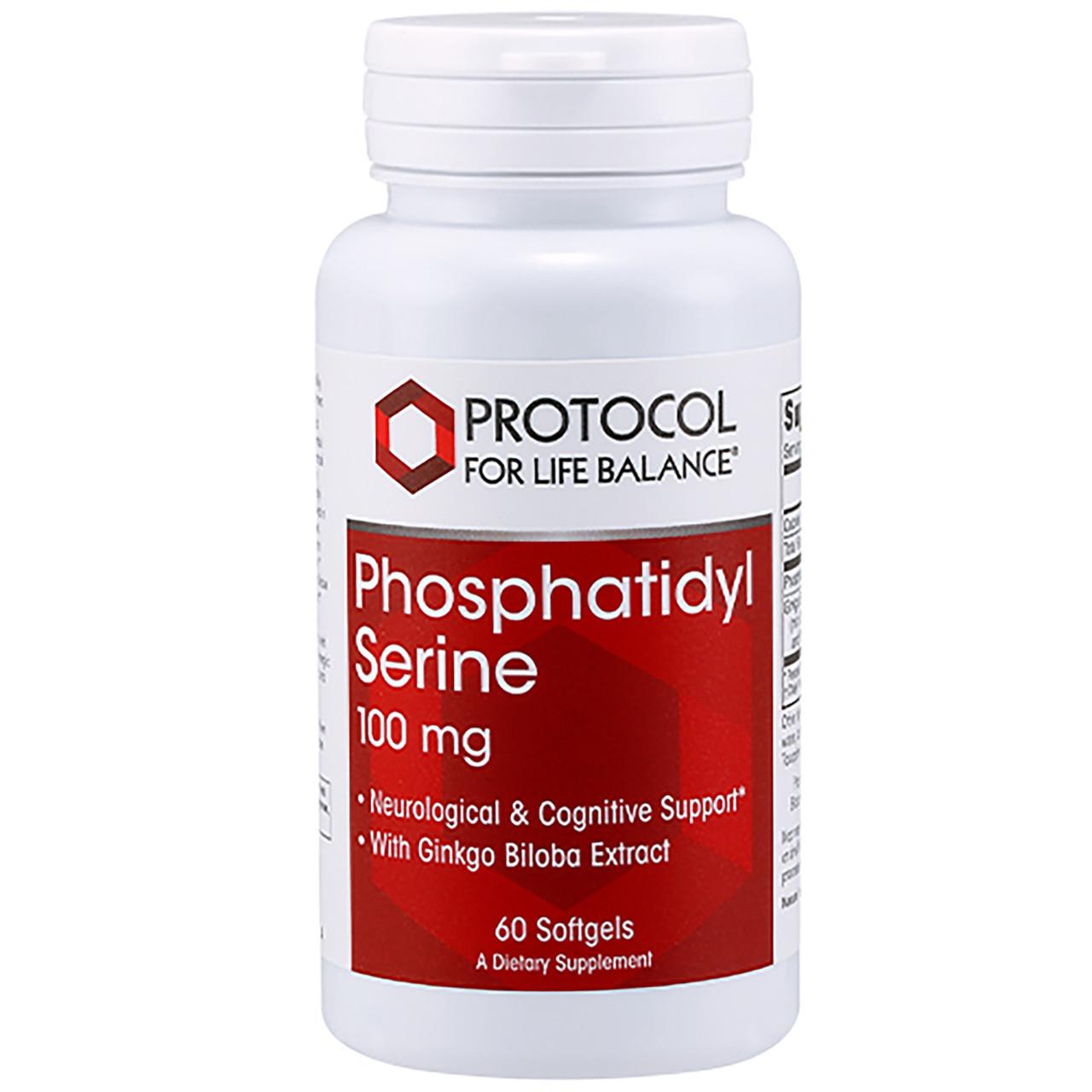 Protocol for Life Balance Phosphatidyl Serine 100mg