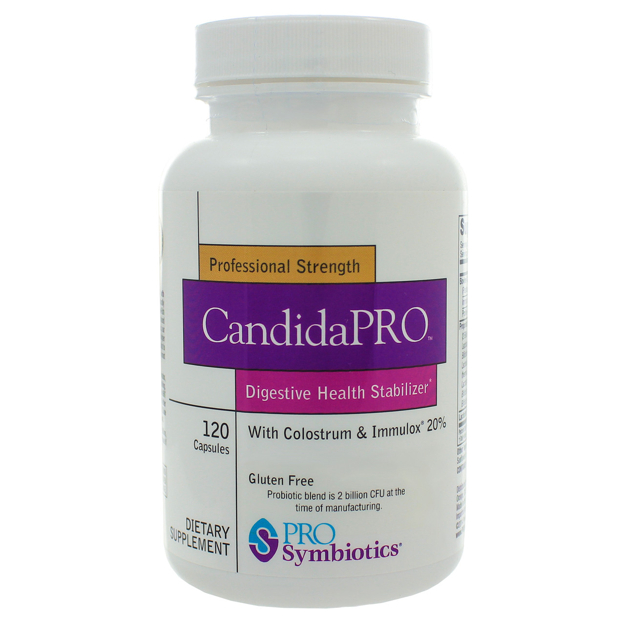 ProSymbiotics Candida Pro 120 caps