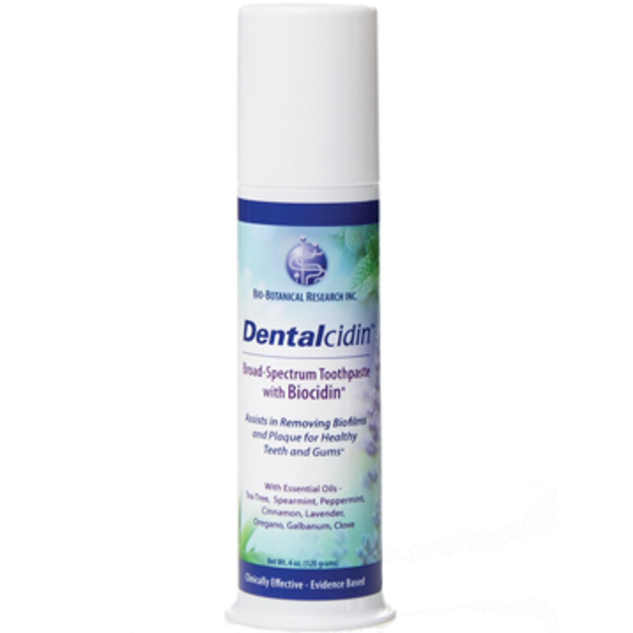 Bio-Botanical Research Dentalcidin Broad-Spectrum Toothpaste with Biocidin