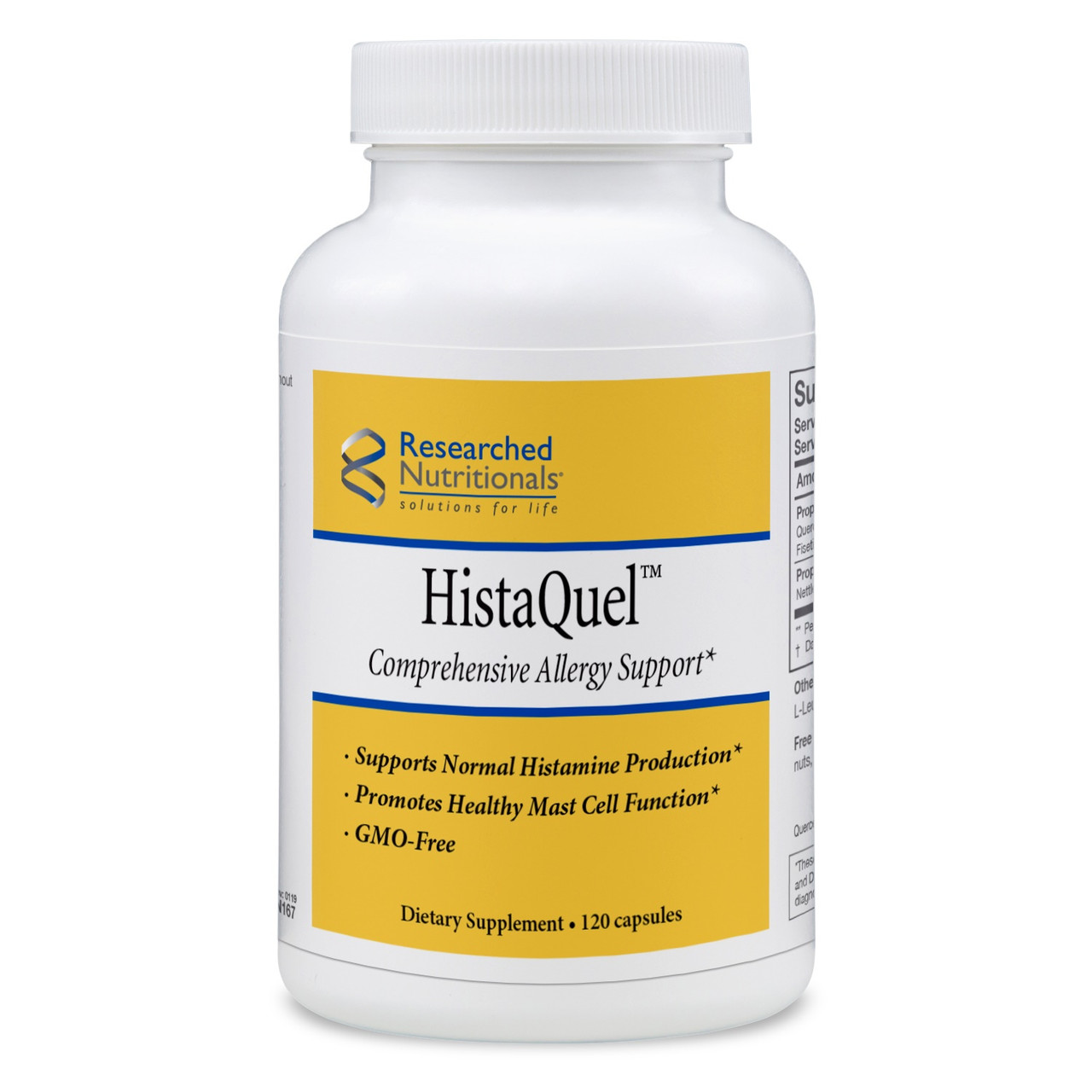 Researched Nutritionals HistaQuel 120 caps