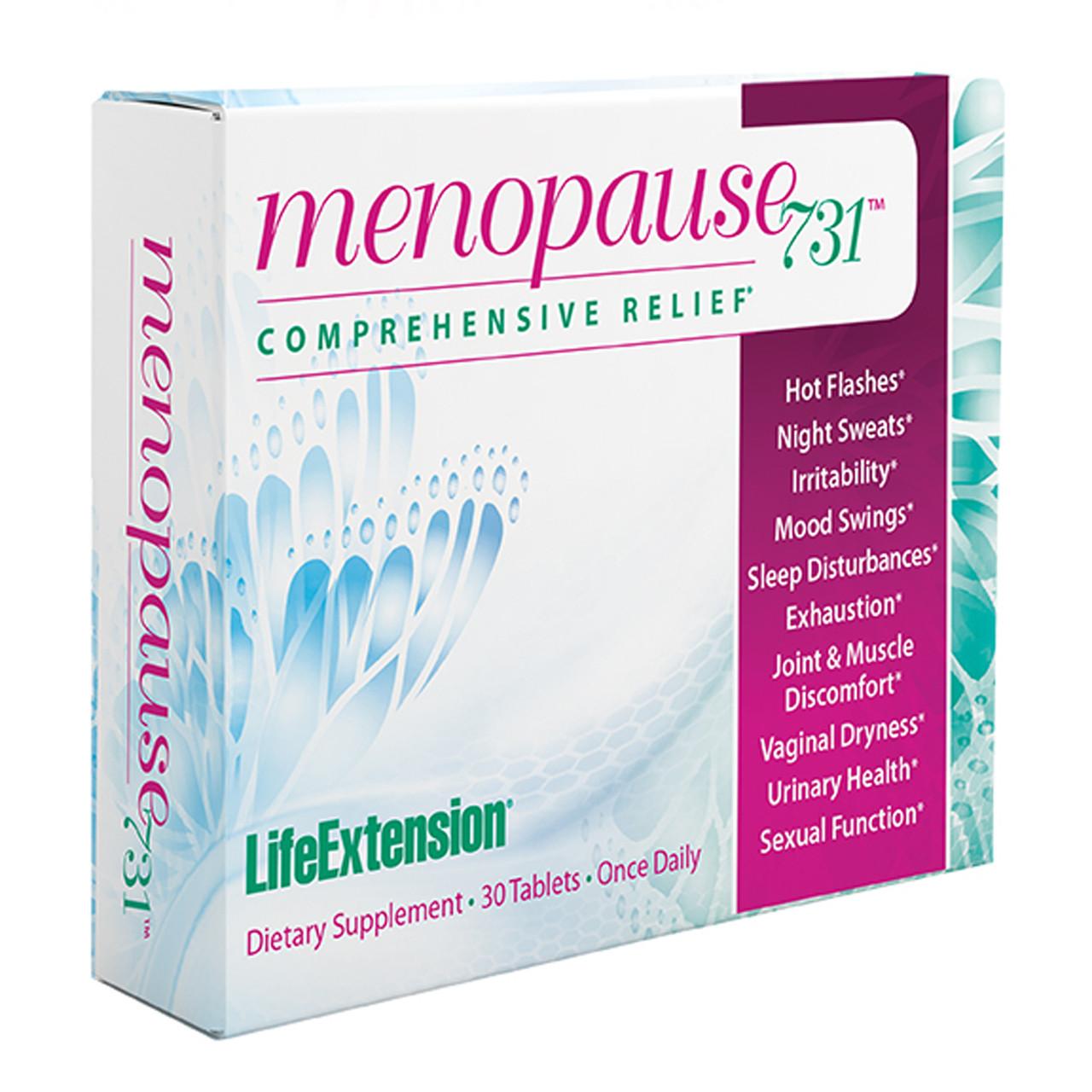 Life Extension Menopause731 30 tablets