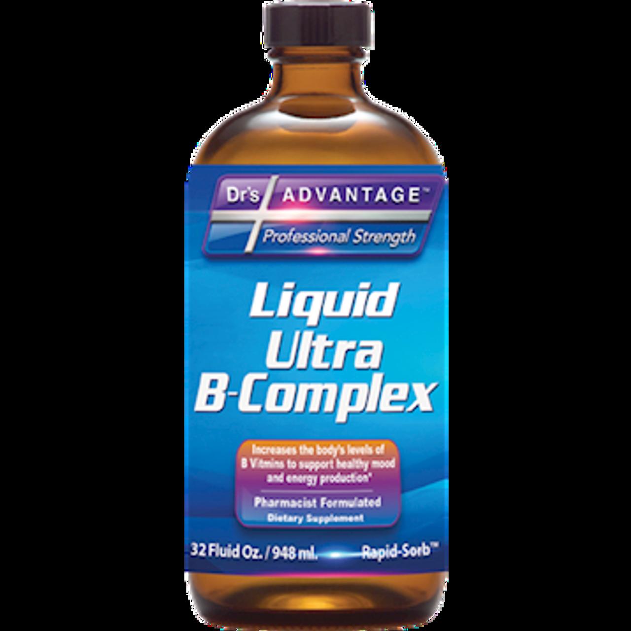 Dr's Advantage Liquid Ultra B-Complex 32 oz