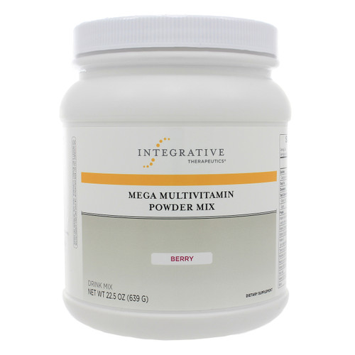 Integrative Therapeutics Mega Multivitamin Powder (Berry Flavor) 22.5 oz