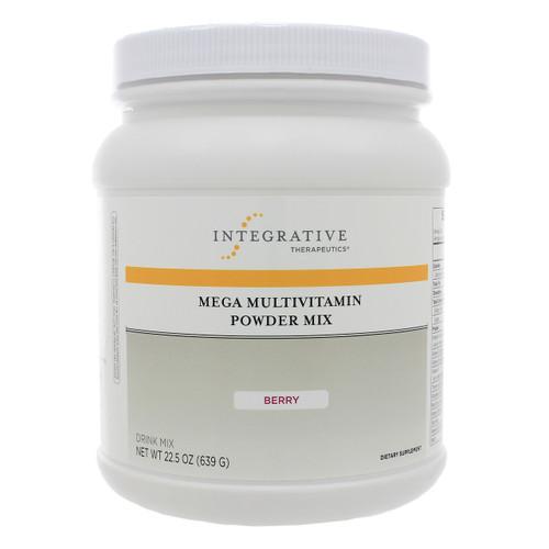 Integrative Therapeutics Mega Multivitamin Powder (Berry Flavor) 22.5 oz