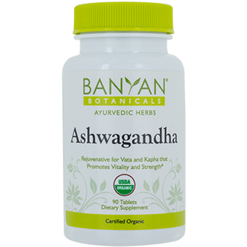 Banyan Botanicals Ashwagandha (Organic) 500 mg
