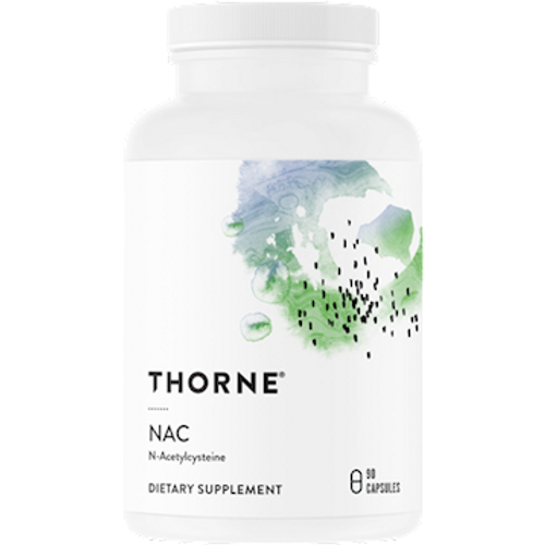 Thorne Research N-Acetyl-L-Cysteine (NAC) 500 mg 90 caps